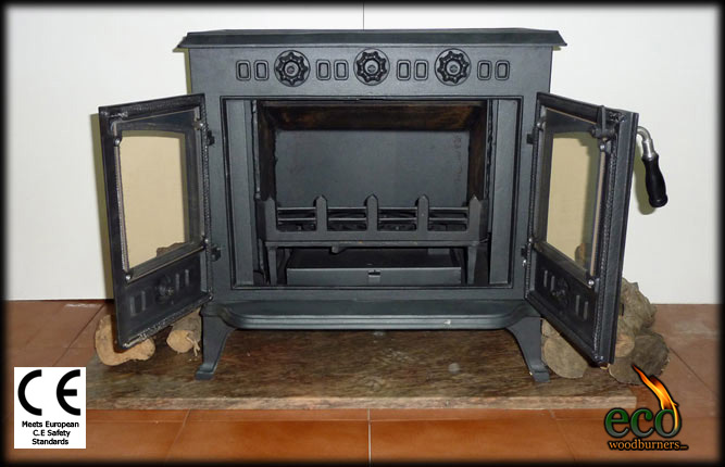 Charmant Wood Stove With Back (water) Boiler   The Cadiz