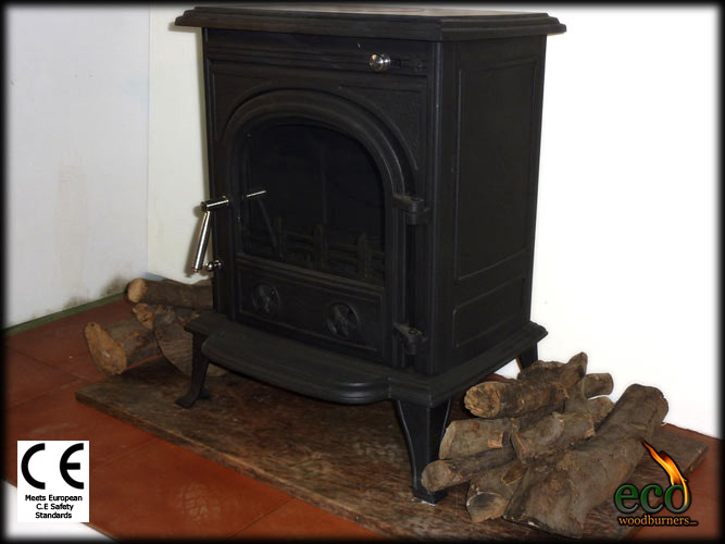 The granada wood burning stove with back boiler plus for Whole house wood furnace
