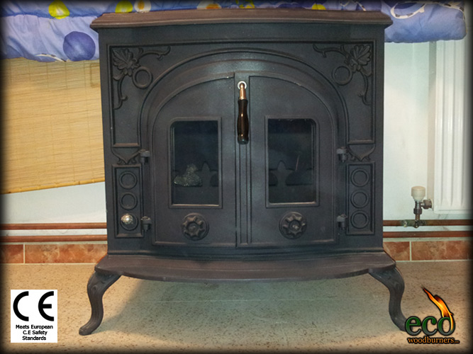 The Madrid - Wood burning stove with back boiler plus wood
