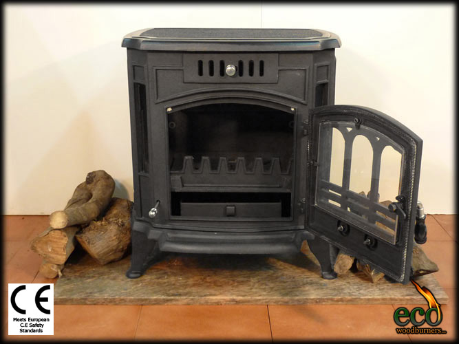 The Marbella - Wood Stove/ Multi Fuel Burner plus wood burning stoves with  water boilers at wholesale prices in Spain, Portugal and the UK. - The Marbella - Wood Stove/ Multi Fuel Burner Plus Wood Burning
