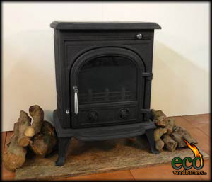 The Granada -  Wood burner with back boiler ECO042B