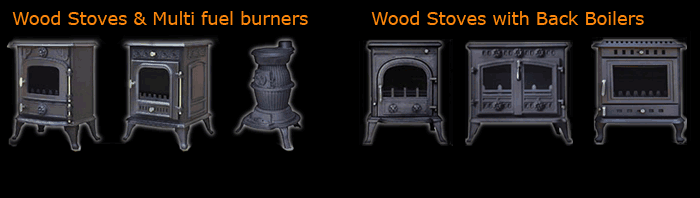 Our range of stoves, burners and boilers